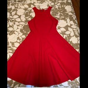 Bou Bou Red A-line Dress